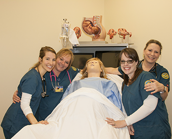 practical nursing students at MSUB