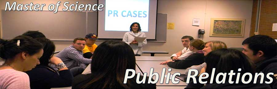 Master of Science in Public Relations
