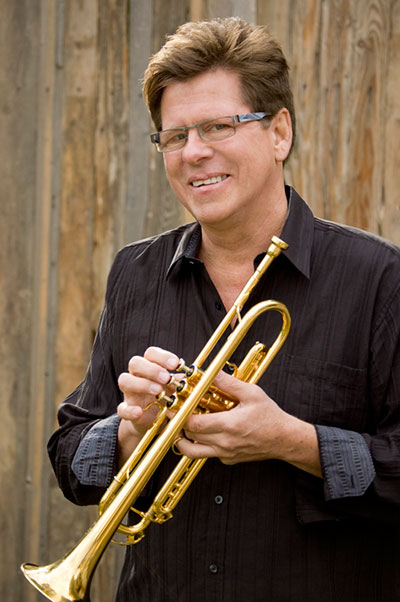 Wayne Bergeron with trumpet