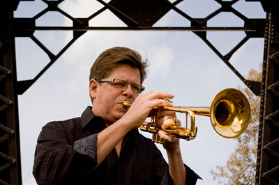 Wayne Bergeron playing trumpet