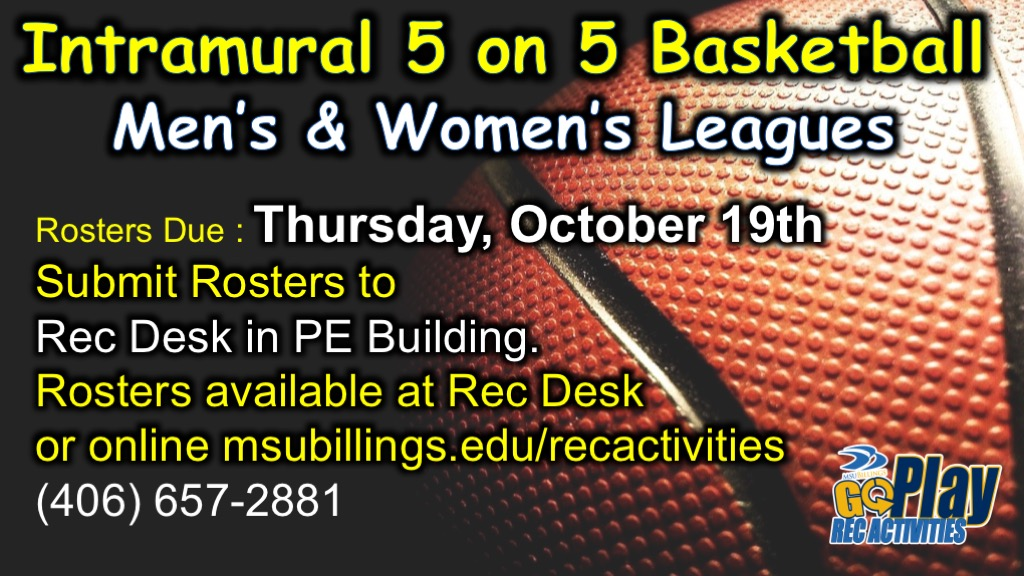 Intramural 5 on 5 Basketball