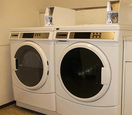 laundry facilities in the MSUB residence halls