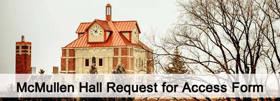 McMullen Hall Request